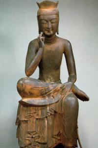 Miroku-Bodsatsu-Hanka-shii-zou(弥勒菩薩半跏思惟像) Koryuji(広隆寺)
