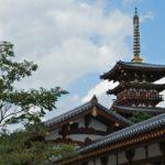 Buddhist temples in Nara. World Heritage
