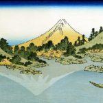 'Mount Fuji reflects in Lake Kawaguchi' by Katsushika Hokusai