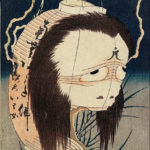 Hokusai's horror ghosts artworks (ukiyo-e)