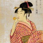 Types of traditional male and female Japanese  kimono clothing