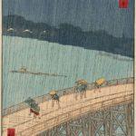 Sudden Shower over Shin-Ōhashi Bridge and Atake by Hiroshige