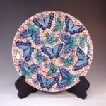 Arita porcelain plates for special gift from Japan