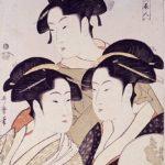 Three Beauties of the Present Day (Tôji san bijin) by Kitagawa Utamaro