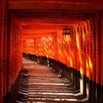 Fushimi Inari Taisha Shrine, famous for the red gates in Kyoto