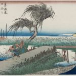 All '53 Stages on the Tokaido' art prints by Utagawa Hiroshige is here