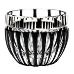 Special black Edo-kiriko cut glass drinkingwares