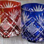 Edo kiriko Japanese drinking glassware. There are many patterns!