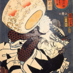 Japanese samurai warrior woodblock prints (musha-e of ukiyo-e)