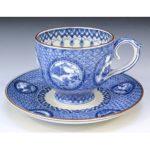 Luxury Japanese Kyo-Kiyomizu pottery tea cups for sale