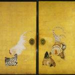 Cactus and Domestic Fowls by Itō Jakuchū