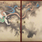 The God of Wind and Thunder by Suzuki Kiitsu