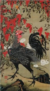 Nandina_and_Rooster