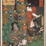 Kusunoki Tamonmaru Masatsura, by Tsukioka Yoshitoshi