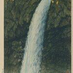 Kegon Waterfall, Nikko, by Kawase Hasui