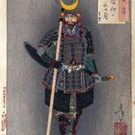 Faith in the third-day moon, by Tsukioka Yoshitoshi